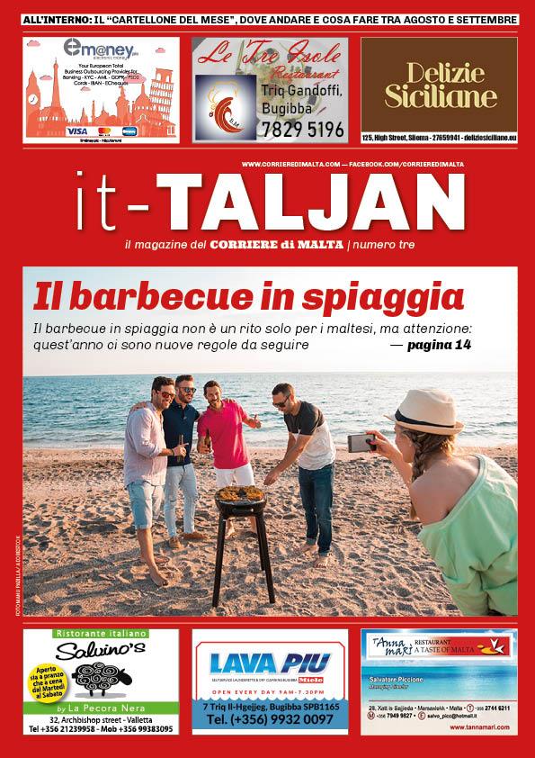 La copertina di it Taljan 3