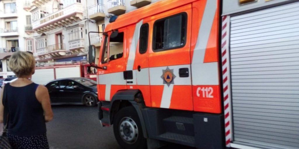 incendio albergo Sliema