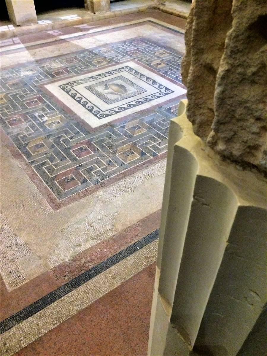 peristilio domus romana rabat