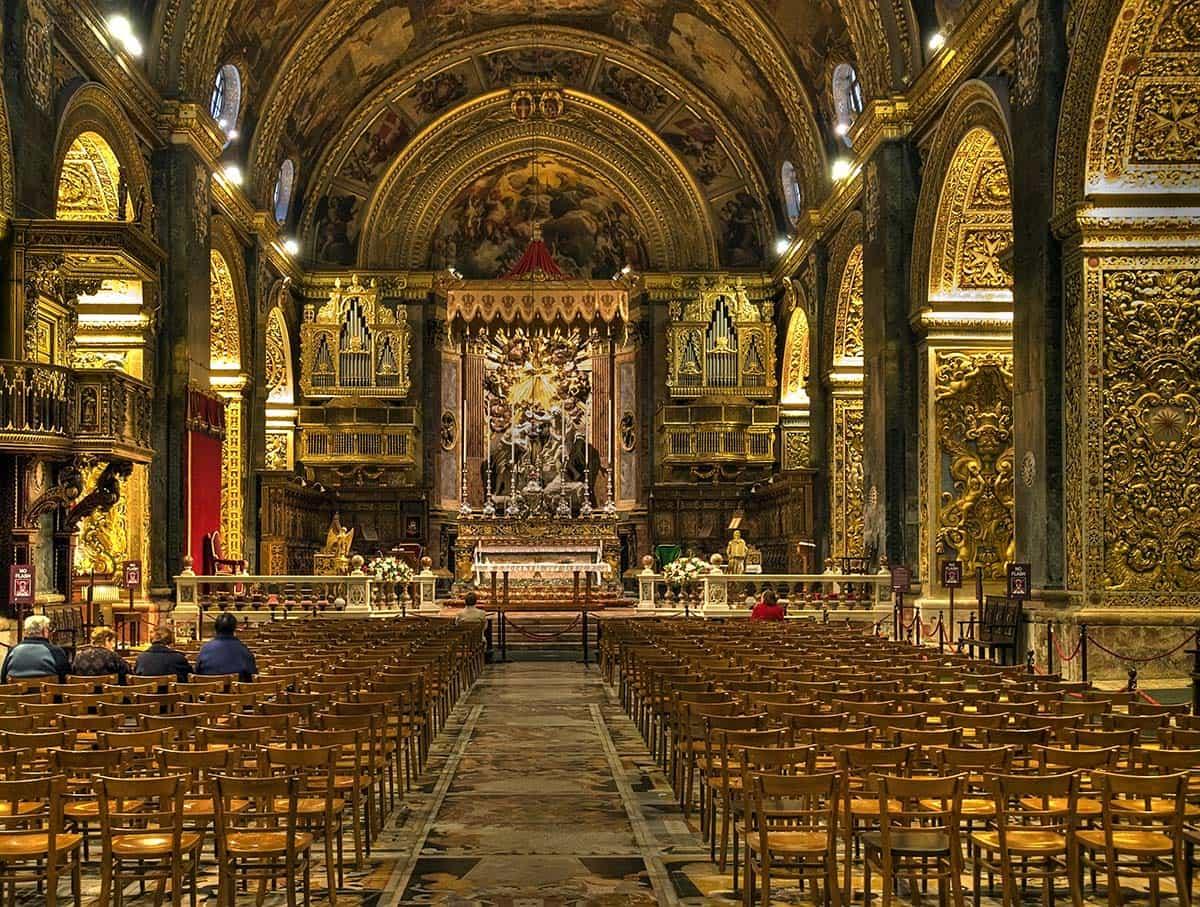 concattedrale di san giovanni valletta cattedrale chiesa
