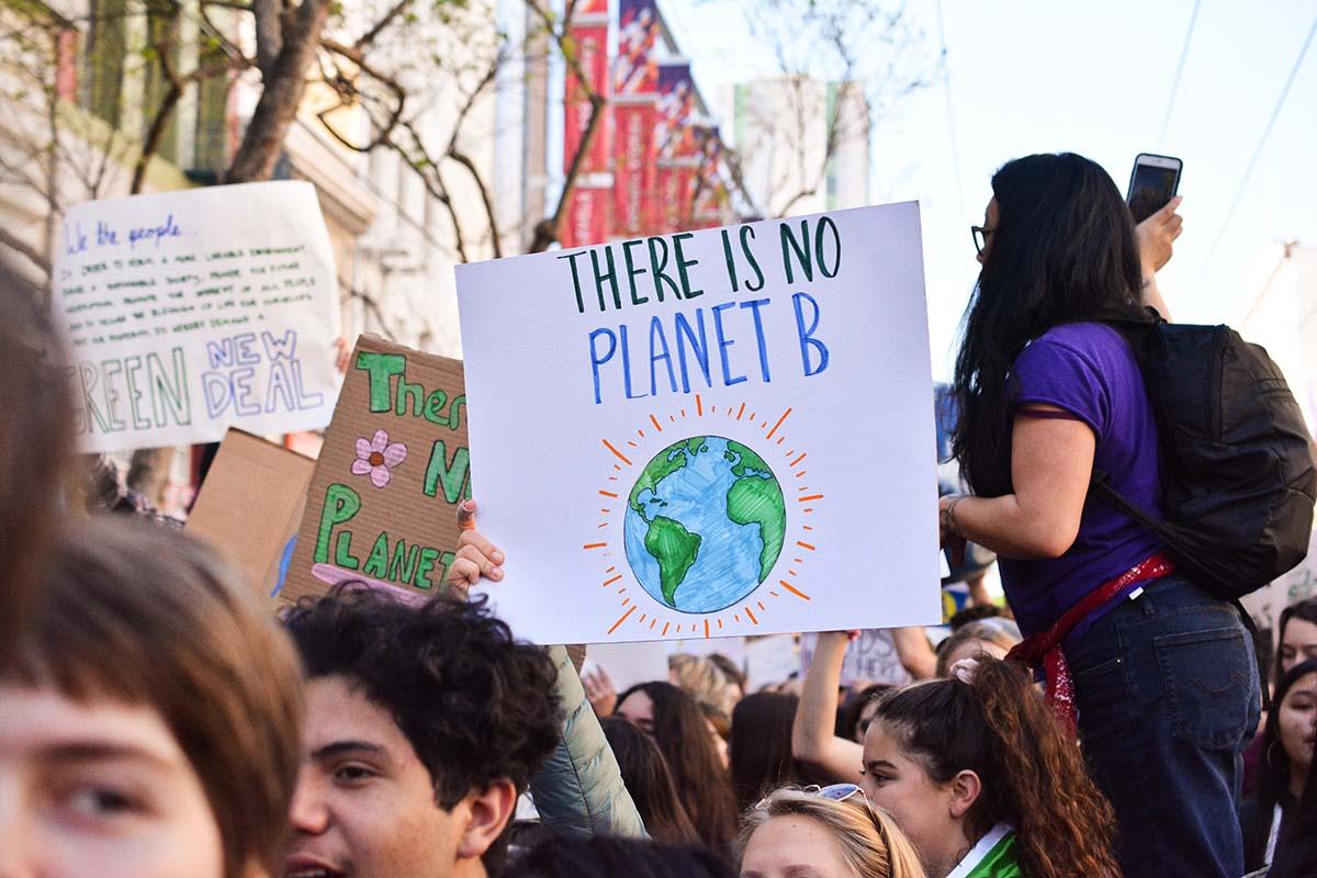 manifestazione cambiamenti climatici