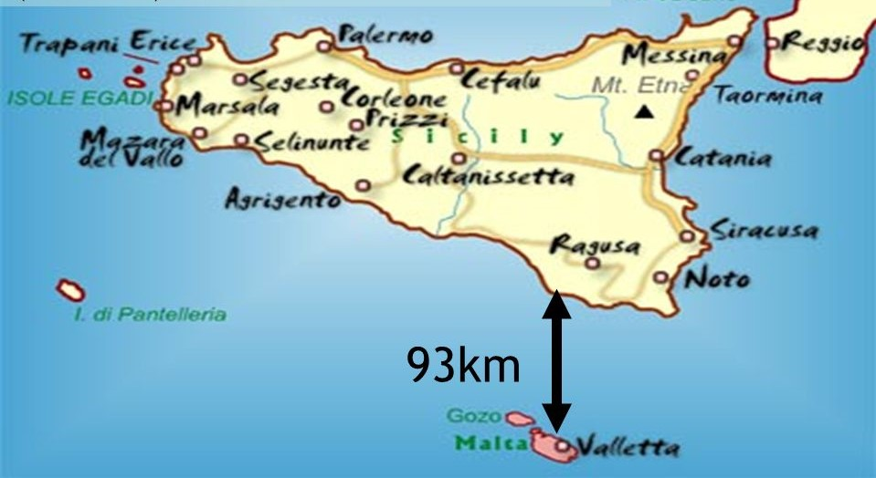 Malta Cartina Stradale.Malta Cartina