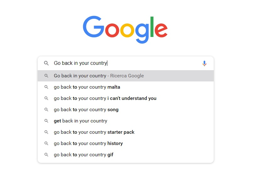 Go back in your country